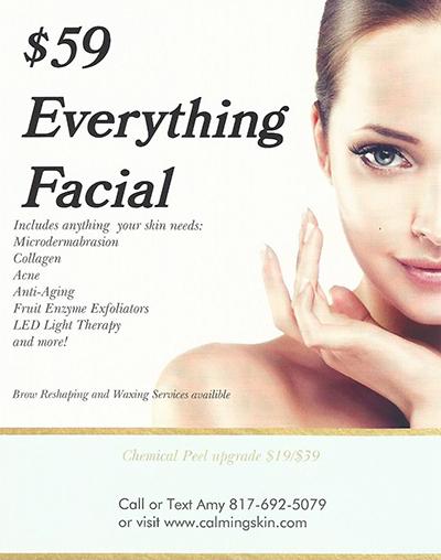 facial special